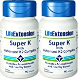 Life Extension Super K with Advanced K2 Complex 90 x 2 (180)