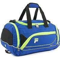 Fila Sprinter - bolsa deportiva (48,26 cm), azul/neón, Una talla