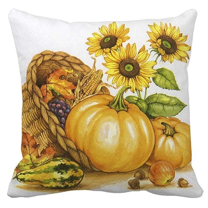 Amazon.com: sportsmanship Halloween Pumpkin Throw Pillow ...