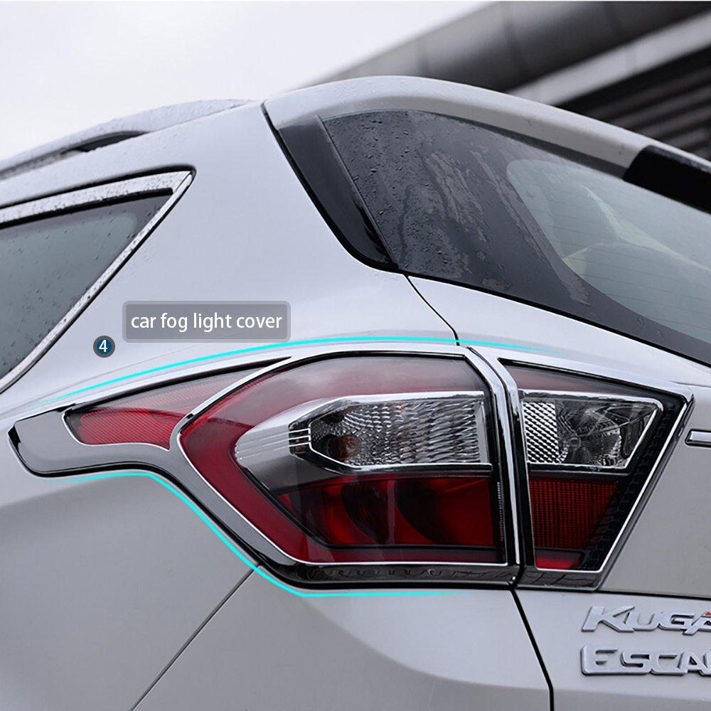 ... Exterior,Cromado Material Chapado En Plata,20 Piezas for Hyundai Tucson(deflectores de viento para coche,brazos del limpiaparabrisas,enmarcado protector ...