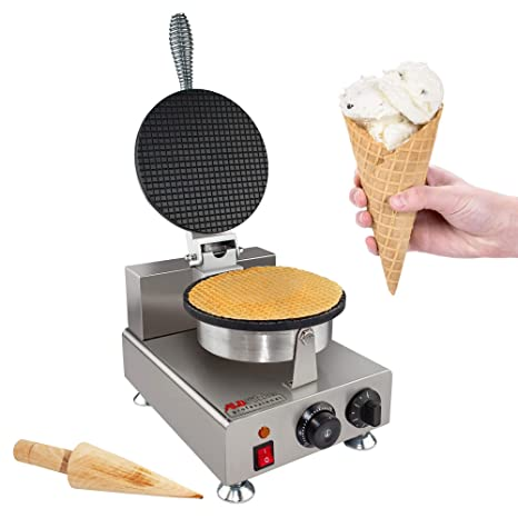 Waffle Maker Professional Rotated Nonstick (Grill/Oven for Cooking Puff,  Hong Kong Style, Egg, QQ, Muffin, Cake Eggettes and Belgian Bubble Waffles)