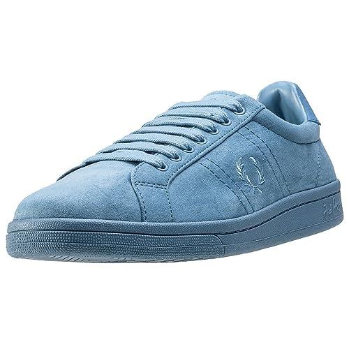 Fred Perry Brushed Cotton Court Hombre Zapatillas Azul: Amazon.es: Zapatos y complementos