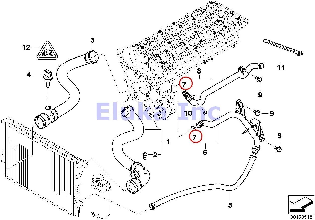 Youan  Bmw E30 Coolant Hose Diagram