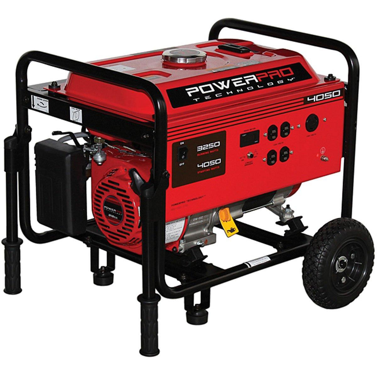 Powerpro Technology 4050 Watt Electric Generator Automotive Prime Genset Pr6500cl 5000watt