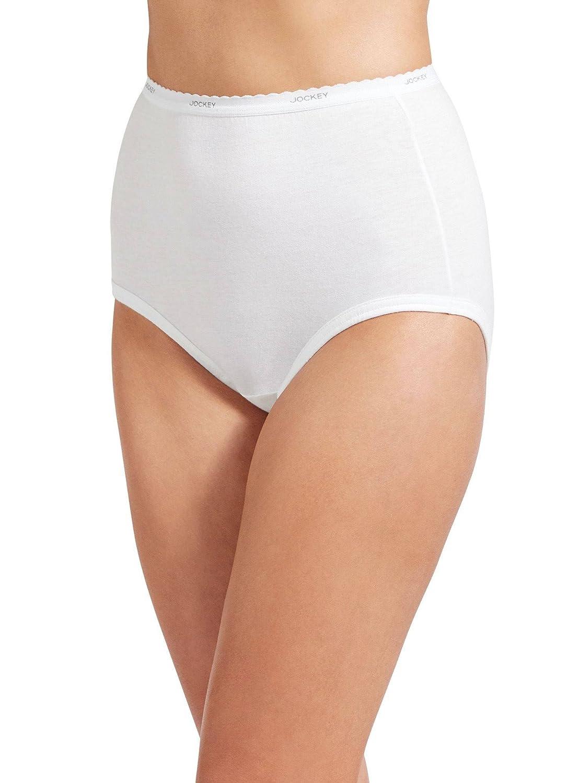 fd58cdbf168 Jockey Women's Underwear Classic Brief - 6 Pack at Amazon Women's Clothing  store: