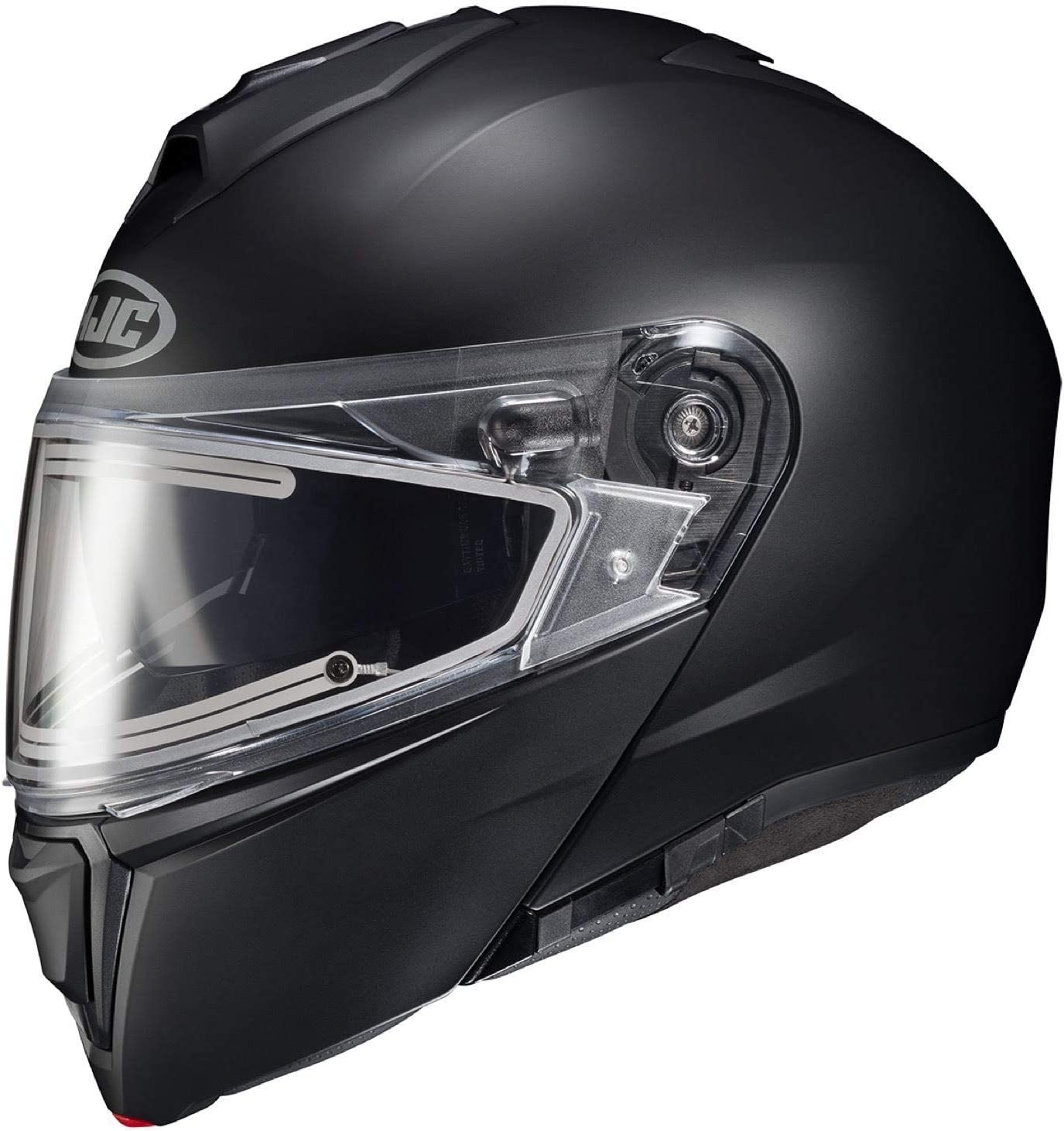HJC Helmets i90 Modular Electric Snowmobile Helmet Semi-Flat Black Xl