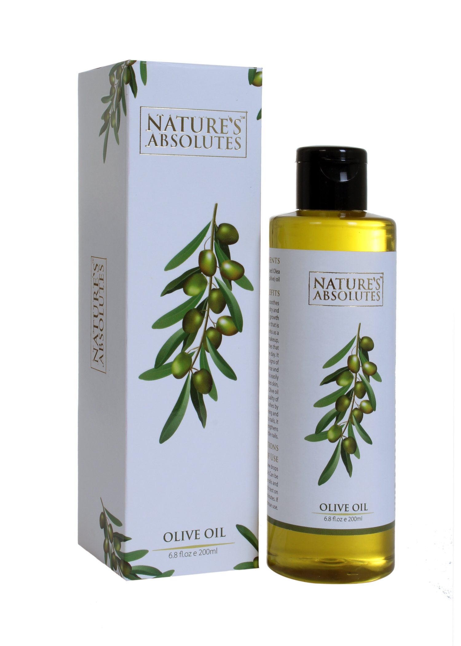 Nature's Absolutes Olive Carrier Oil, 200ml product image