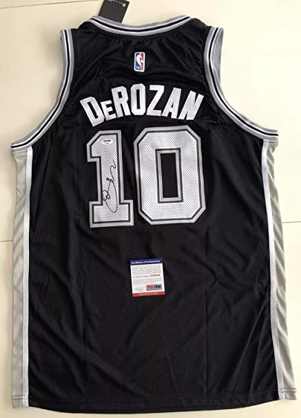 0b195a86589 Demar Derozan Autographed Signed San Antonio Spurs Jersey Memorabilia  PSA/DNA COA #10 Raptors Nba Rare at Amazon's Sports Collectibles Store