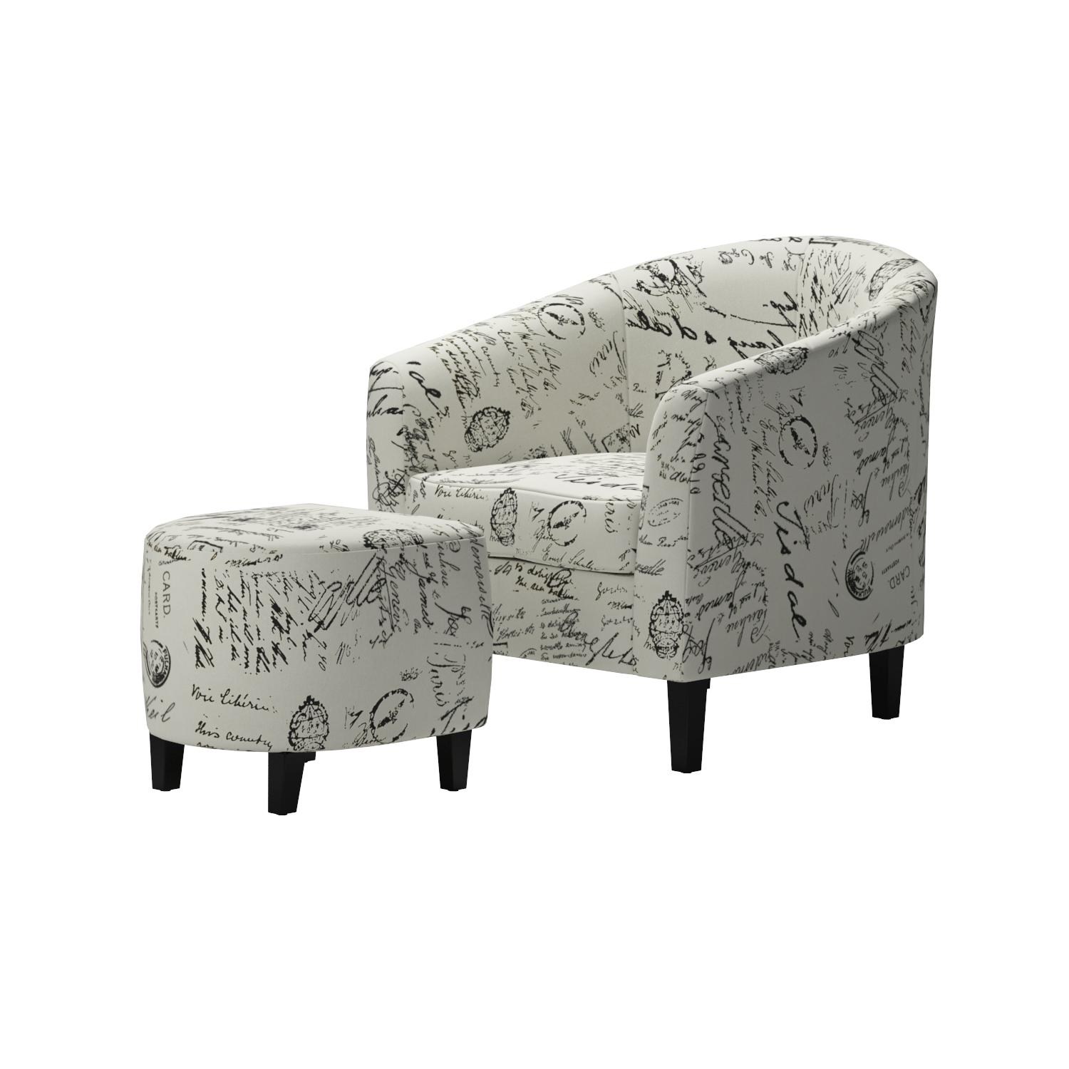 Amazoncom Monarch Specialties Vintage French Fabric Accent