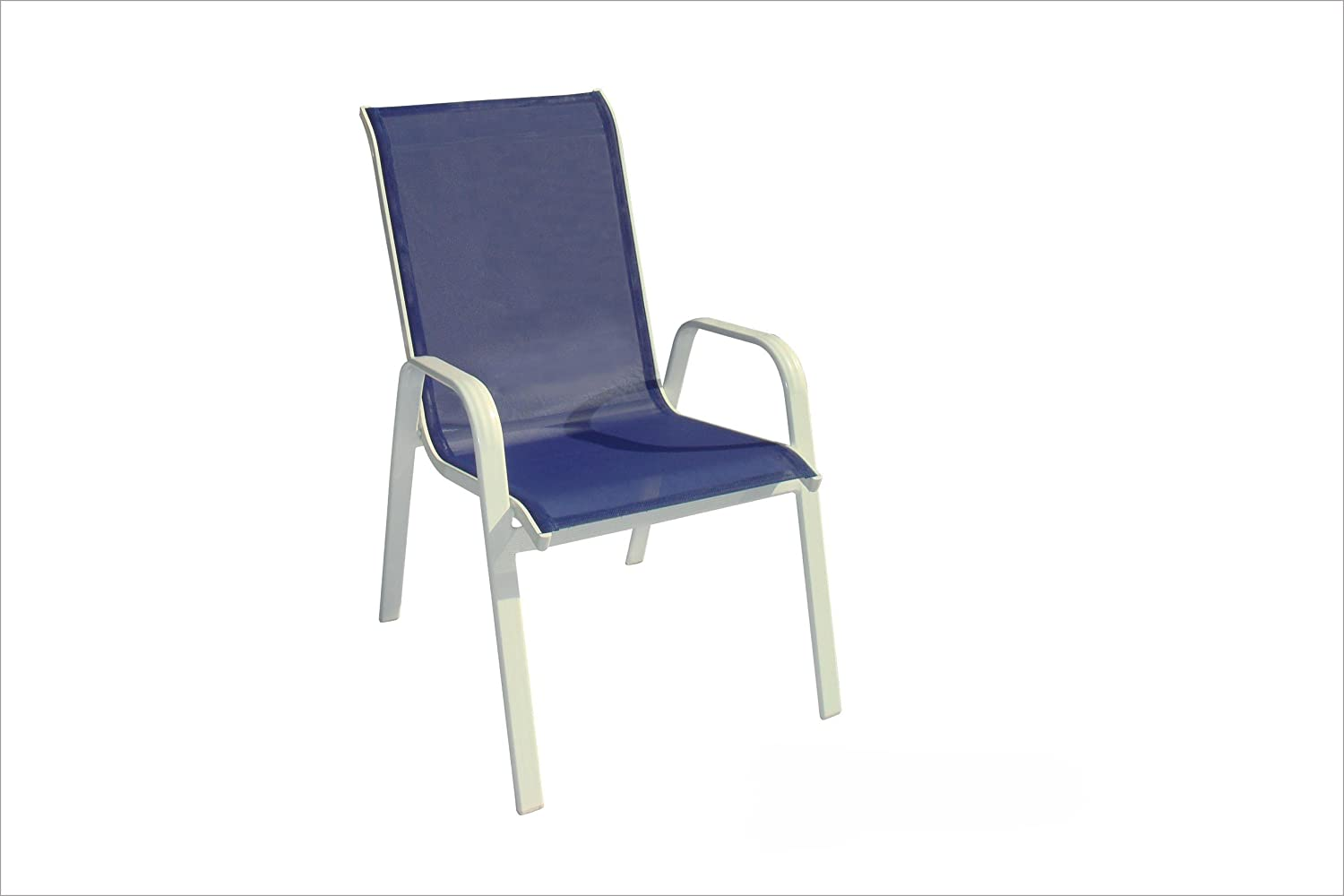 DC America 372139-BL4PK 4-Pack Fantasy Sling Chair, Blueberry - Amazon.com: Sling Chairs: Patio, Lawn & Garden