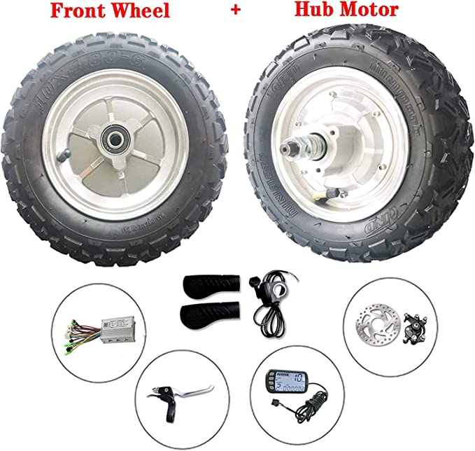 Details about  /Hub Wheel Motor Brushless Gearless 48V 350W E-bike Electric Scooter Motor 10/'/'