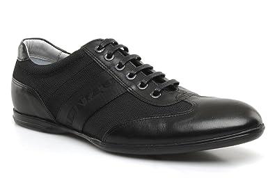 c2de3daa8d6 KENZO POLO- Baskets Mode Homme - Noir (Cuir) - Taille 41  Amazon.fr ...