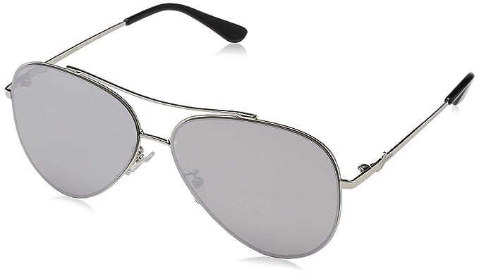 GUESS GF0301, Gafas de Sol Unisex Adulto, Negro (Grigio/Nero),