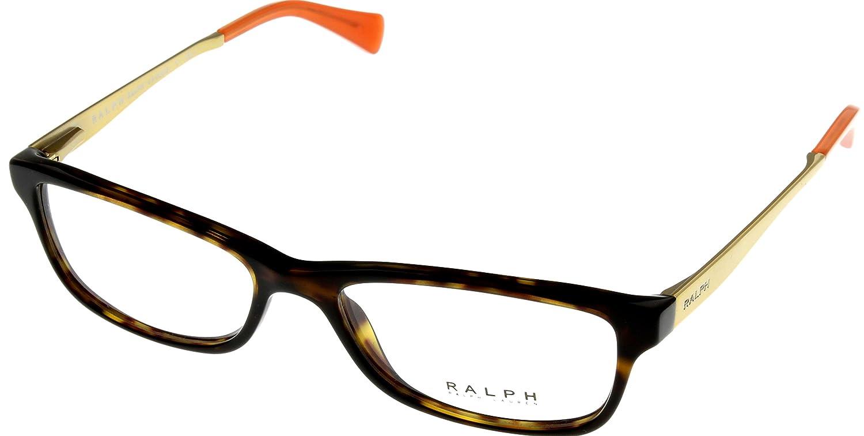 2a5b23d7050 Ralph by Ralph Lauren Women Eyeglasses Designer Havana Rectangular RA7050  502  Amazon.co.uk  Clothing