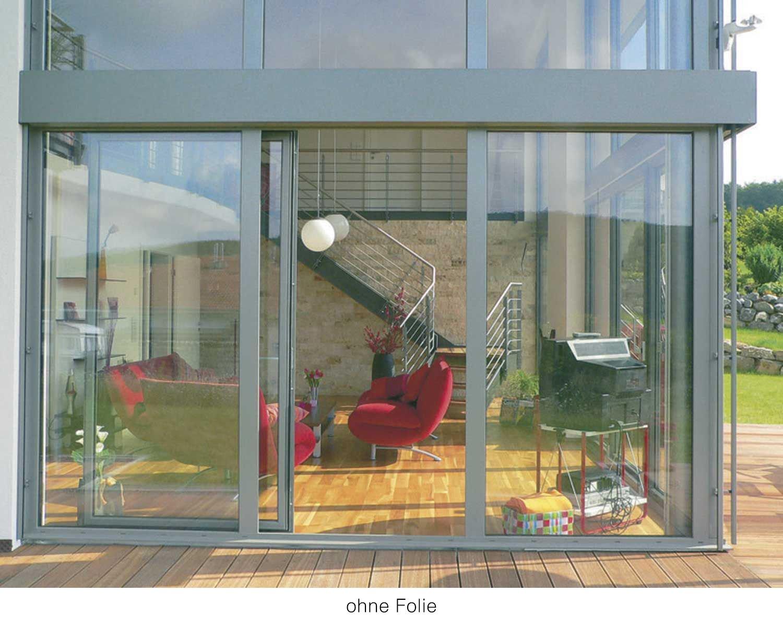POWERFIX Gebäudefensterfolie Selbstklebend UV Hitze und