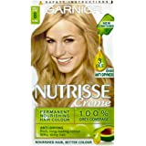 Garnier Nutrisse Hair Colouring Cream 8 Vanilla Blonde/Medium Blonde