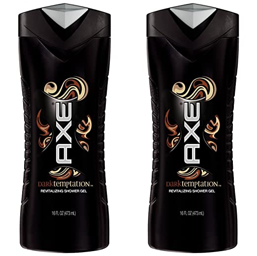 Axe Shower Gel, Dark Temptation 16 oz (Pack of 2)