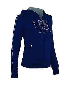Sudadera con capucha Zip mujer Parkour, azul marino, X-Small: Amazon.es: Deportes y aire libre