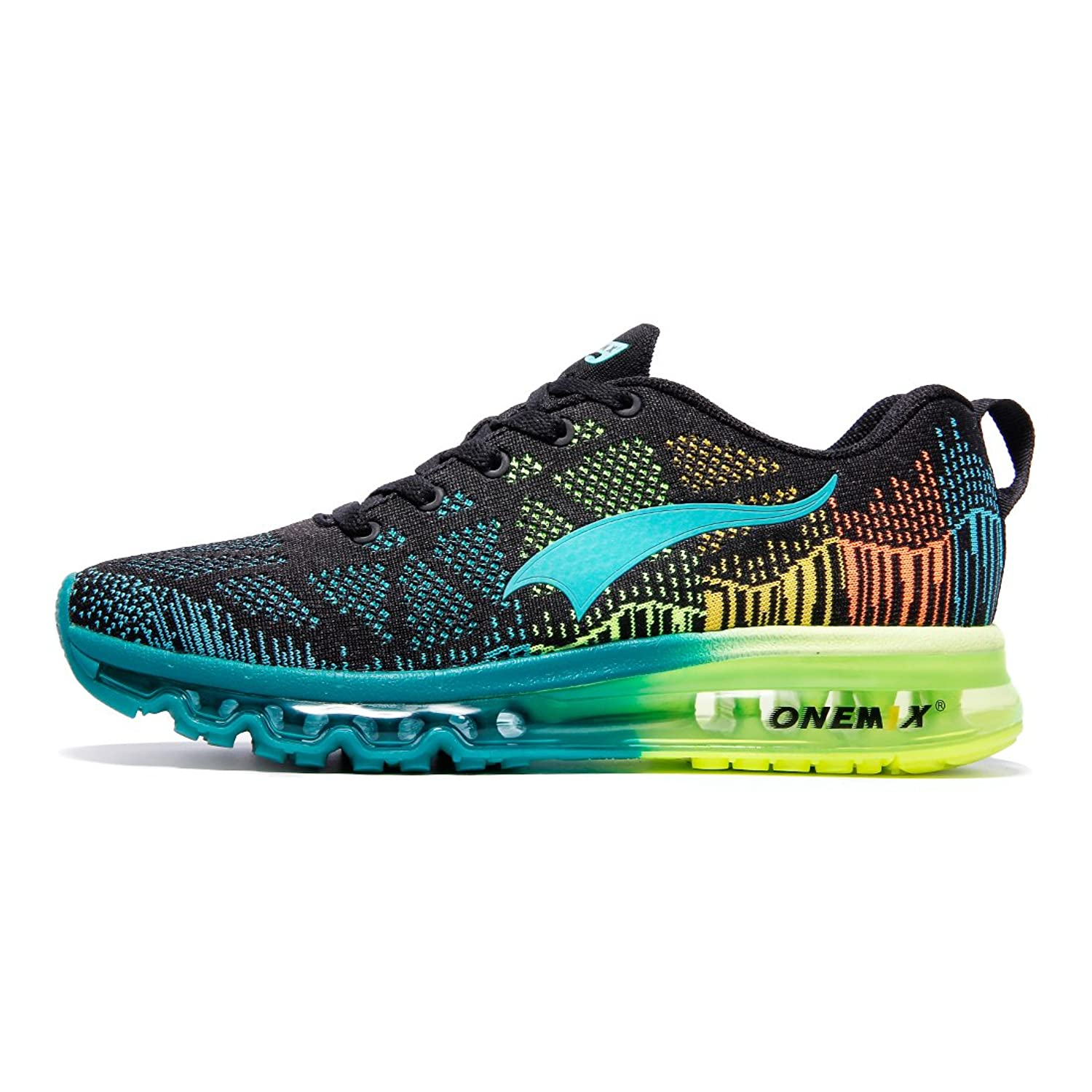 ONEMIX Running Chaussure Hommes 3D Knit Air Max Flyknit Léger pour La  Marche Gym Fitness Jogging 7dde0f52add6