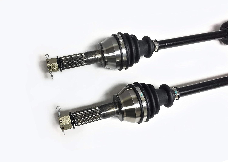 ATV Parts Connection Pair of Rear Left /& Right CV Axle Shafts for Polaris 4x4 fits Ranger Diesel 900 2011-2014 /& Ranger Diesel Crew 900 2012-2014 UTV
