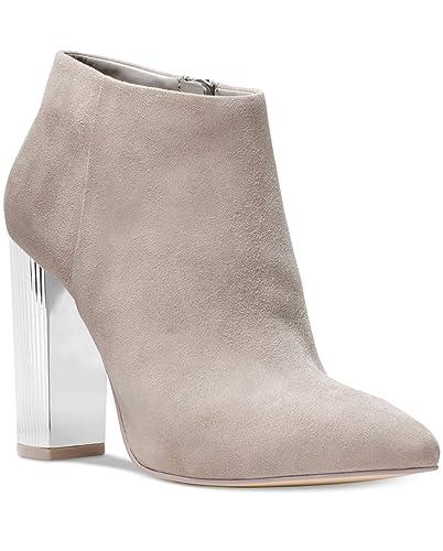 d7c8e98ac Amazon.com | Michael Michael Kors, Paloma Suede Bootie, Grey, 9.5 | Ankle &  Bootie