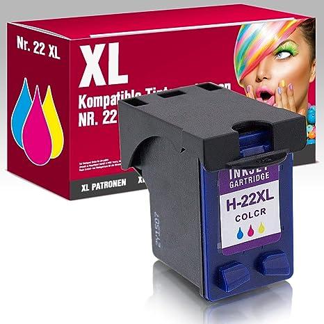Cartuchos de Tinta XL compatibles HP 21 HP 22 para HP ...