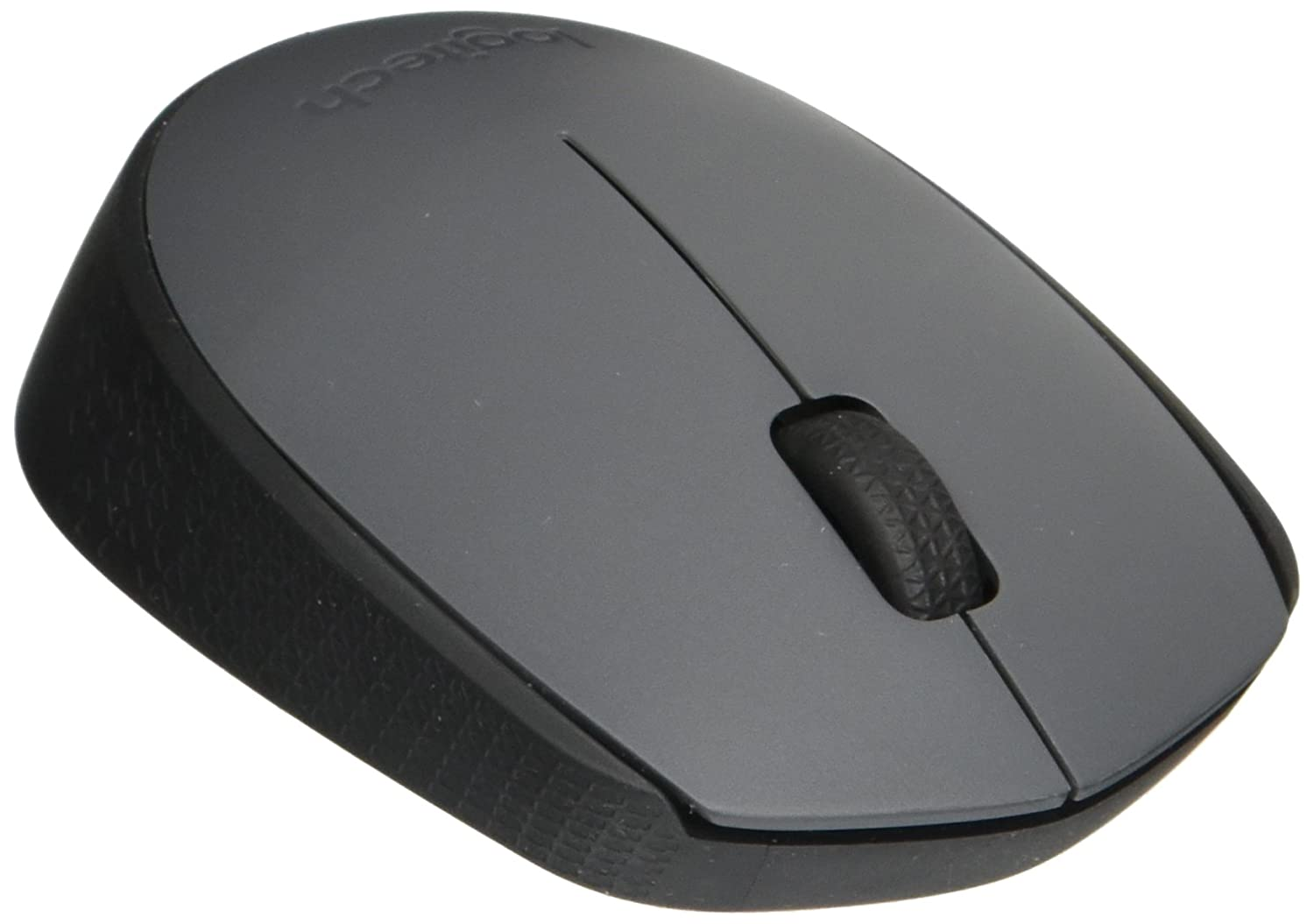 LOGITECH 910-004425 Wireless Mouse M170 for PC and Mac, Grey