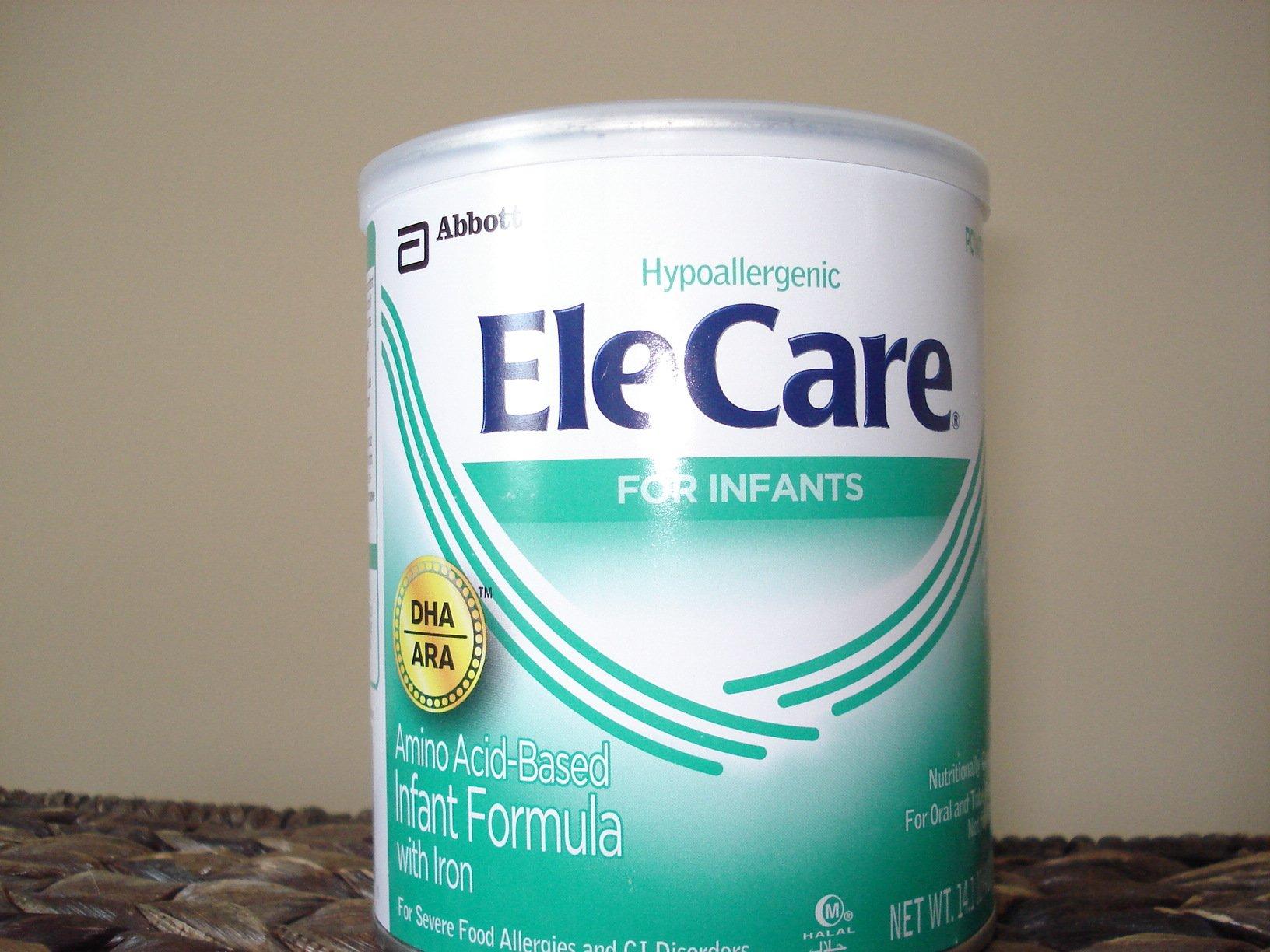 Elecare Infant Formula (DHA/ARA) 14.1 Oz. 5 PACK