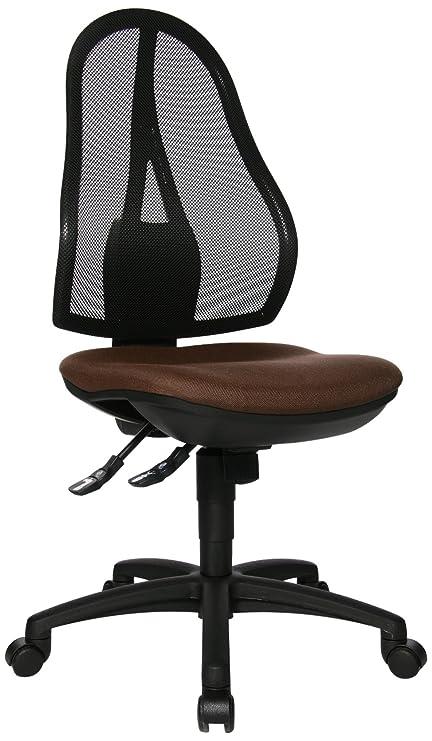 Bürostuhl Schreibtischstuhl Drehstuhl Topstar Open Point SY dunkel braun B-Ware