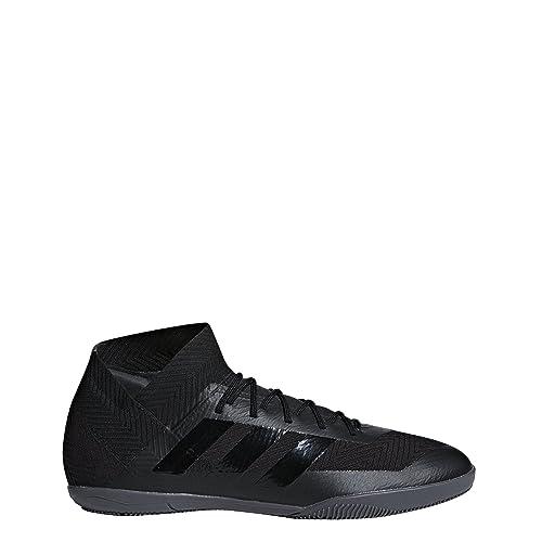 f6912db98 adidas Men's NEMEZIZ Tango 18.3 Indoor Soccer Shoes, Core Black/Core Black /Grey