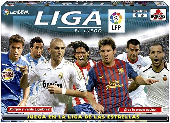 Educa Borrás 15437 - Liga El Juego 2012-2013: Amazon.es: Juguetes y juegos