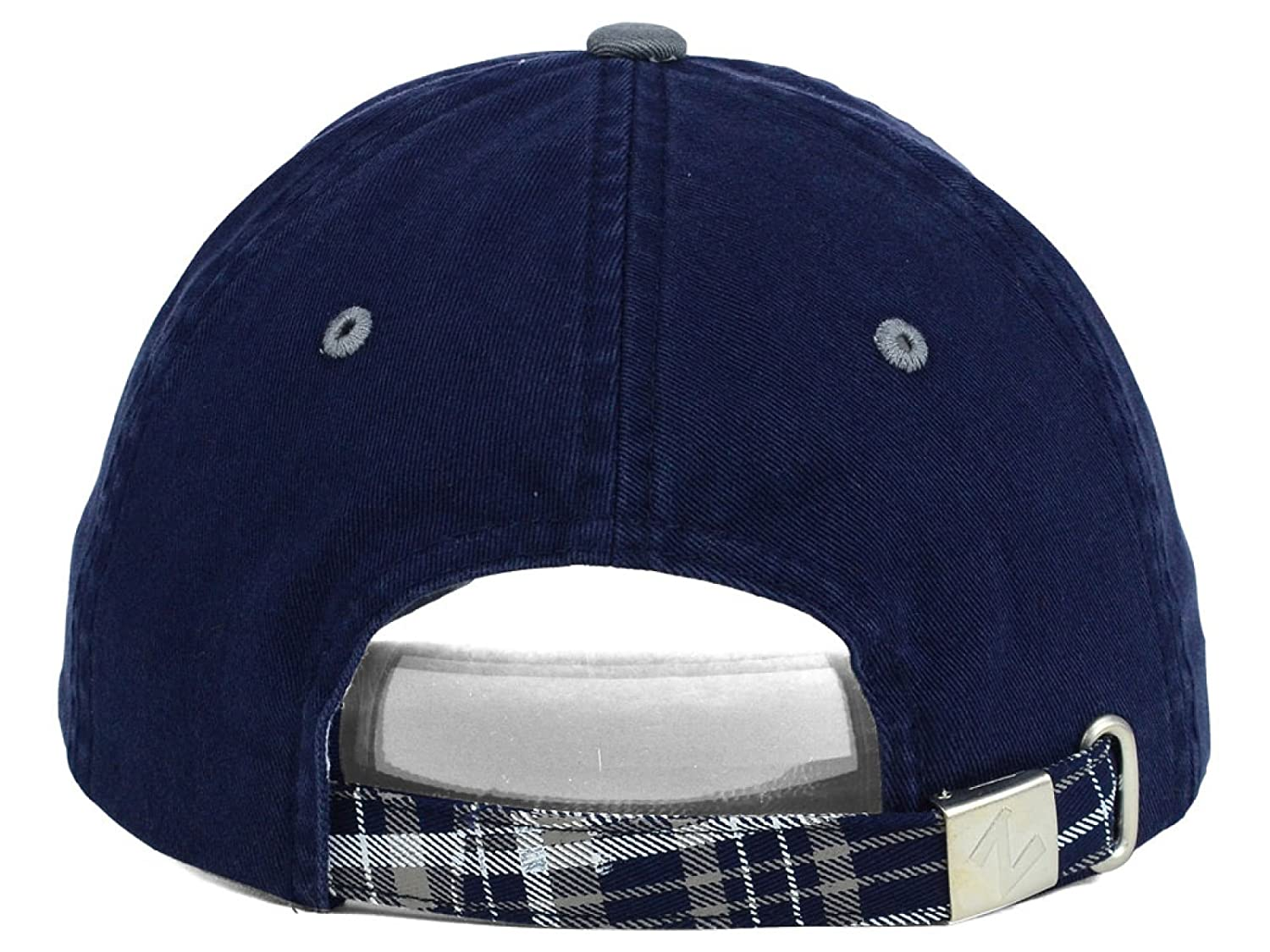 107783de53d ... reduced amazon nevada wolf pack ncaa zephyr womens washed plaid navy  plaid adjustable hat cap sports