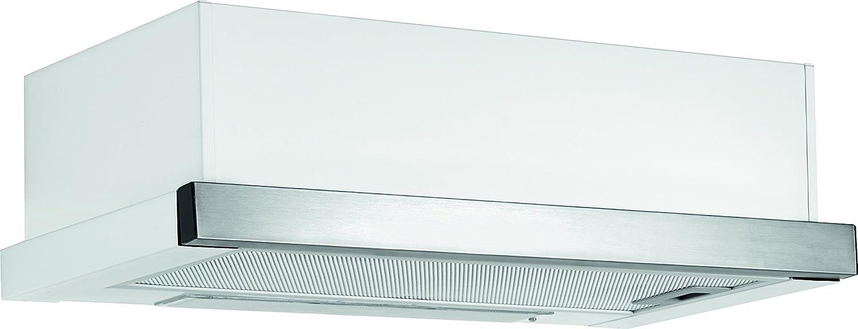 Bomann DU 660 Unterbauhaube / 60 cm / Max, Lüfterleistung 300 m³/h / inox / weiß [Energieklasse E]