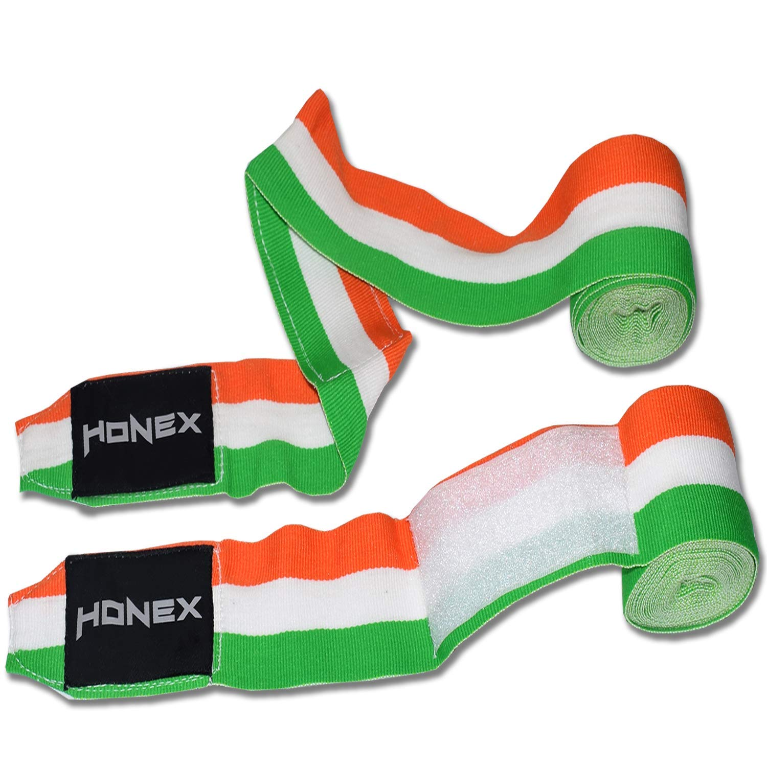 4m 1 Pair Pack Germany Flag Pattern Premium Quality Hand Wraps for Boxing and MMA Ultra Soft Durable Quality Bandages for Men /& Women Honex Mexican Style Stretchable Boxing Hand Wraps