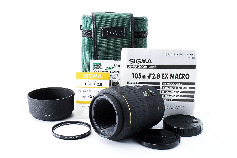 【10%OFF】 SIGMA 105mm シグマ AF 105mm F2.8 EX MACRO MACRO for SONY EX/MINOLTA B019NWQ9BO, コクブシ:eb4132d6 --- arianechie.dominiotemporario.com