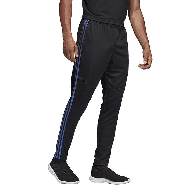 6b3e0c2e adidas Men's Soccer Tiro 19 Training Pant, Black/Blue Pearl Essence, X-