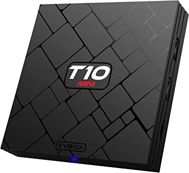 Bqeel T10 Mini Android Box Amlogic S905 Quad Core 4K Salida 1G / 8G con Flash y WiFi preinstalado Smart Box: Amazon.es: Electrónica