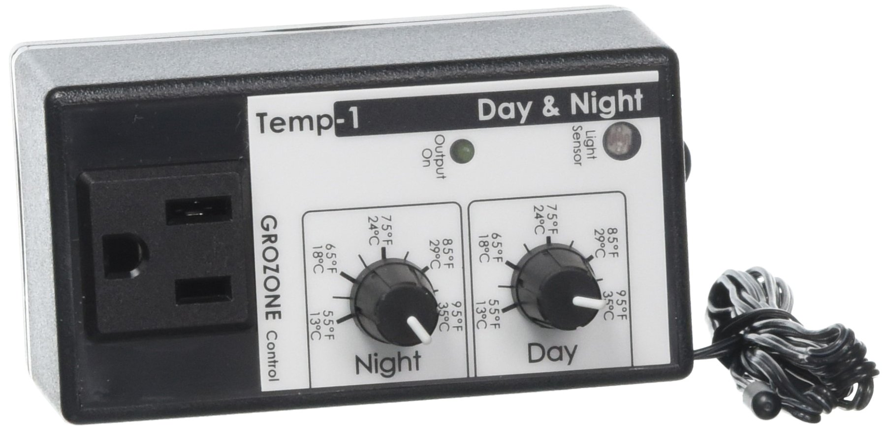 Grozone Controls TP1 Day/Night Tempstat