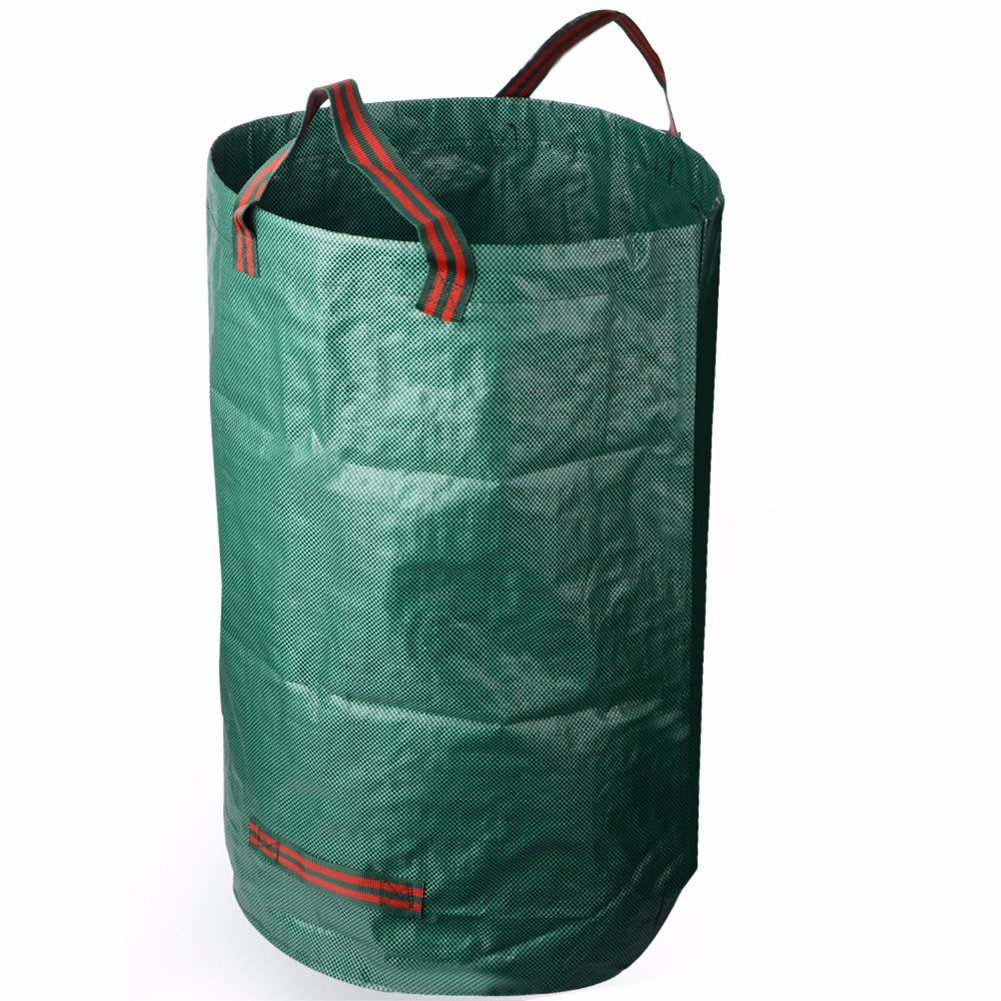 debieborahtoys Garden Waste Bag Flowers and Grass Garbage Bag Reusable Rubbish Grass Refuge Sacks
