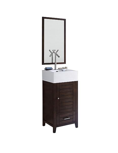 Amazon Com Ronbow Elise 18 Inch Single Bathroom Vanity Set