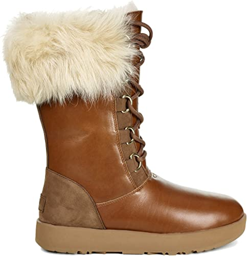 Aya Waterproof Boot Chestnut Size 9.5