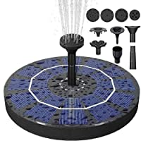 Deals on Biling Solar Bird Bath Fountain Pump