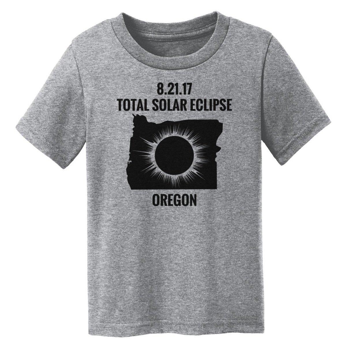 Digital T-Shirt Shop Baby-girls Total Solar Eclipse 2017 Oregon