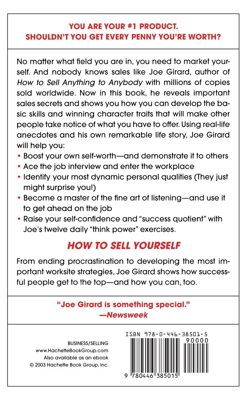 how to sell yourself joe girard robert casemore  how to sell yourself joe girard robert casemore 9780446385015 com books