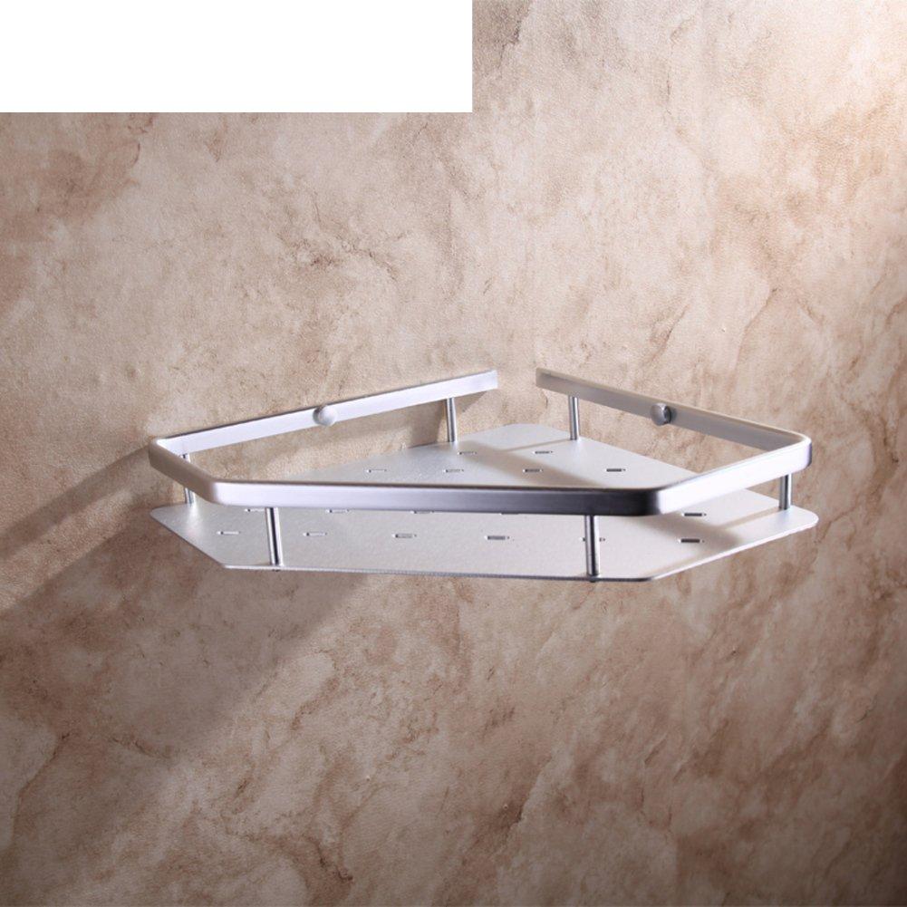 outlet Bathroom space aluminum corner/the shelf in the bathroom/ wall-mounted triangular basket/Bathroom basket-A