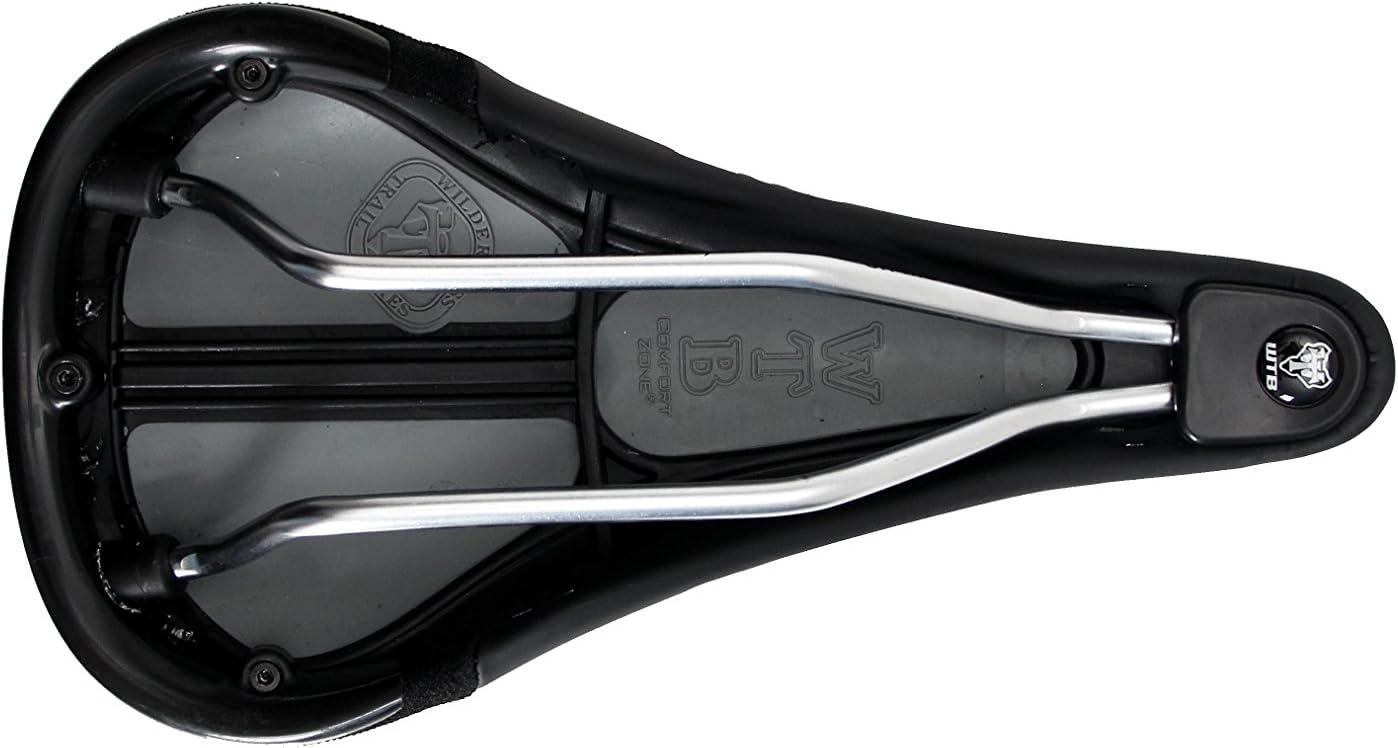 WTB Speed ProGel Medium 145mm Wide Black MTB Bike Saddle Unisex Seat Steel Rails