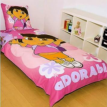 Parure De Lit Dora Avec 1 Housse De Couette 1 Drap Housse 1 Taie