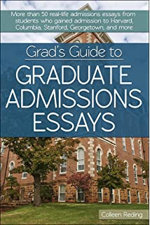com graduate admissions essays fourth edition write your  grad s guide to graduate admissions essays examples from real students who got into top schools