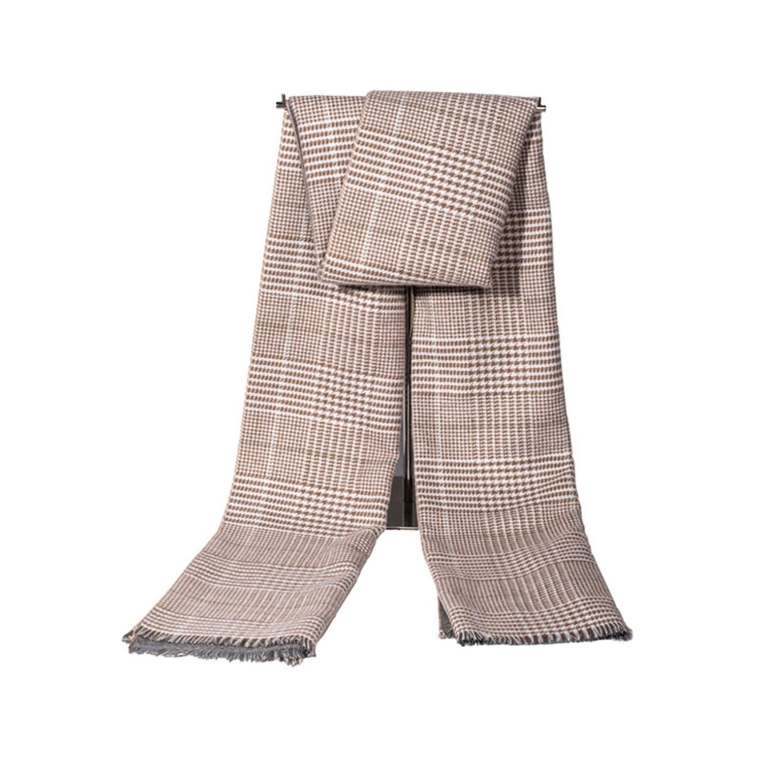 AMDXD Cotton Women Scarf Houndstooth Autumn Scarf Switch Winter Scarf for Winter Autumn 185CM