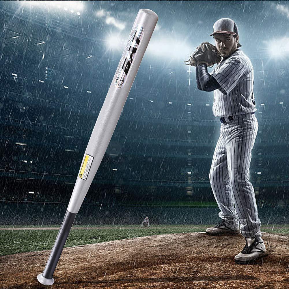 Nannday Bate de b/éisbol Raqueta Liviana de aleaci/ón de Aluminio de 34 Pulgadas Bate de Softball de tama/ño Completo para Deportes al Aire Libre
